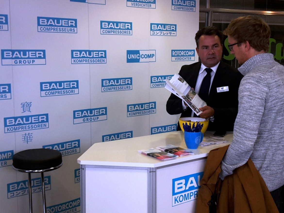 BAUER GROUP à la HOKO 2016, Munich